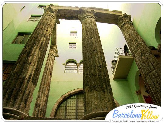 barcino_roman_temple_columns