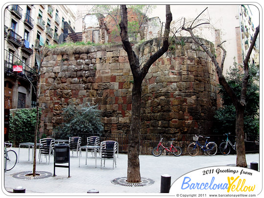 barcino_roman_wall_placa_traginers1